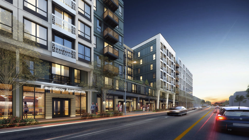 Building A - Fauntleroy Way street level