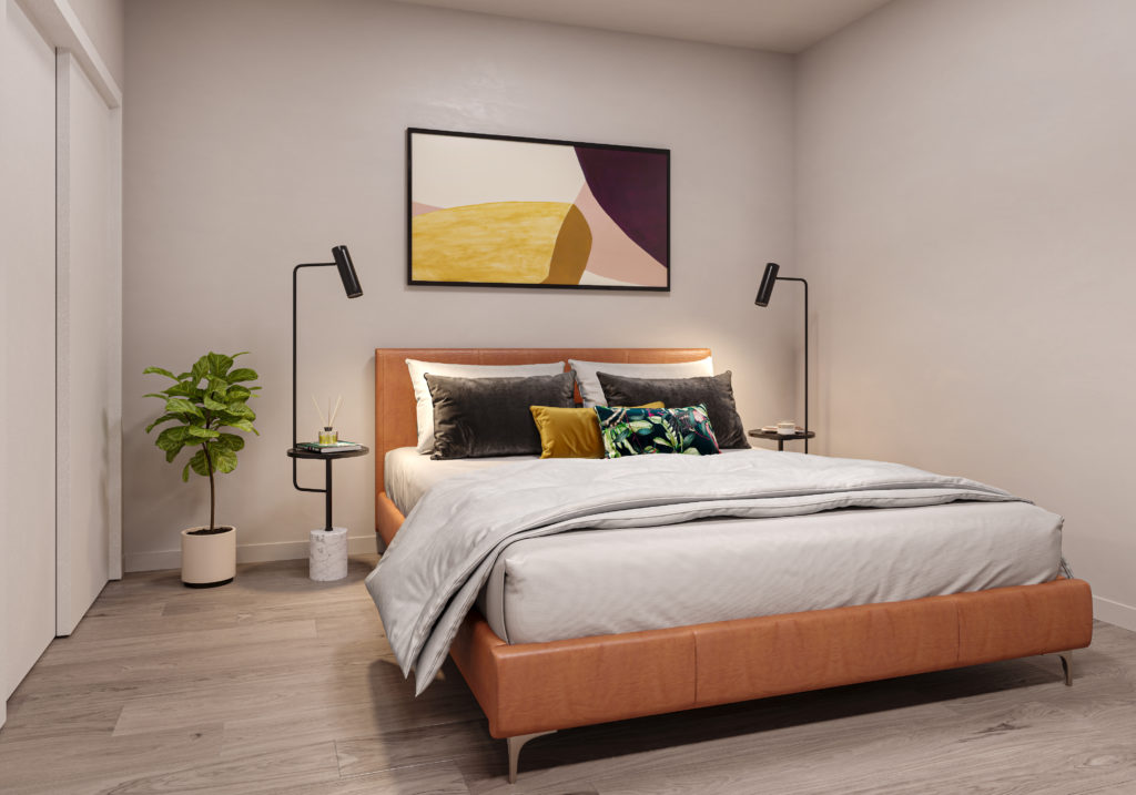Maris Seattle - Bedroom