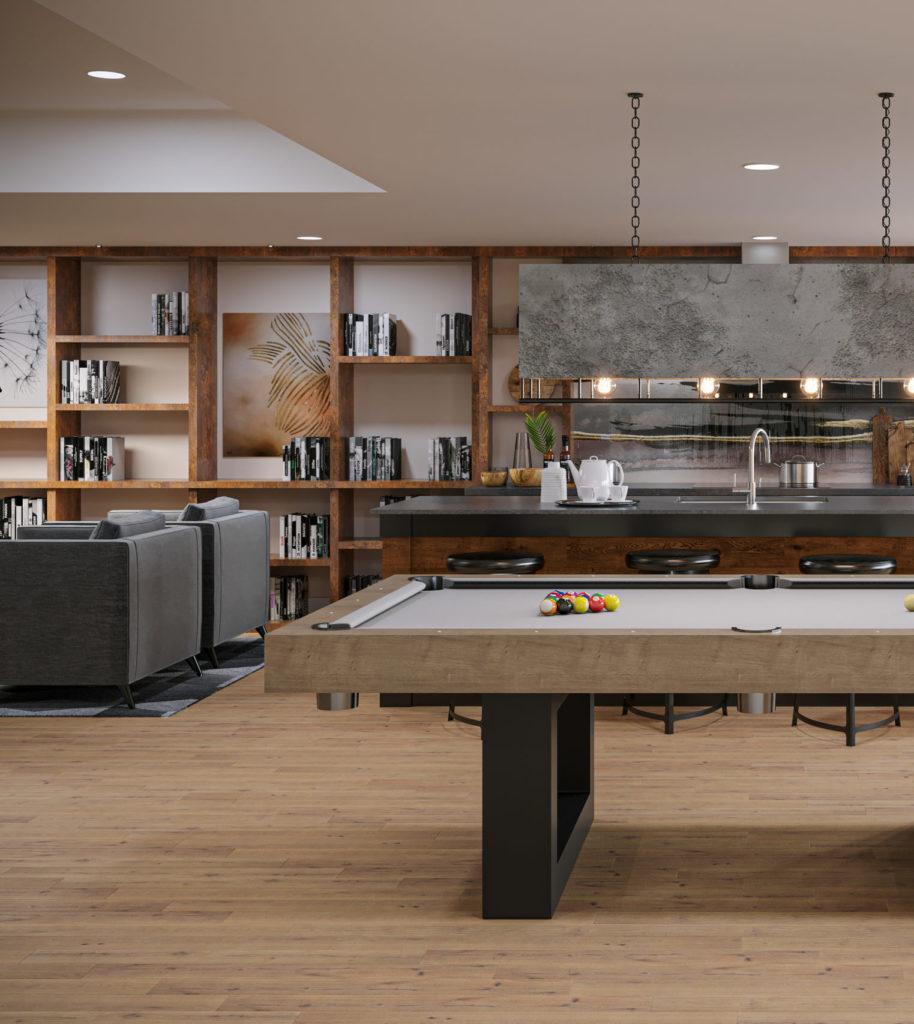 Maris Seattle - Club Room Pool Table
