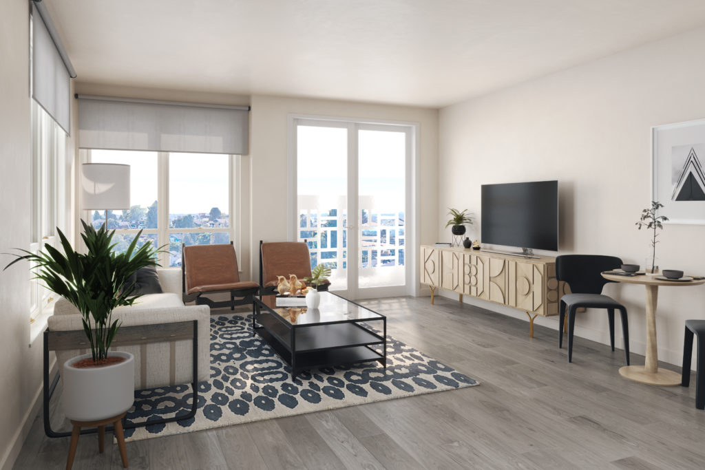 Maris Seattle - Living Room