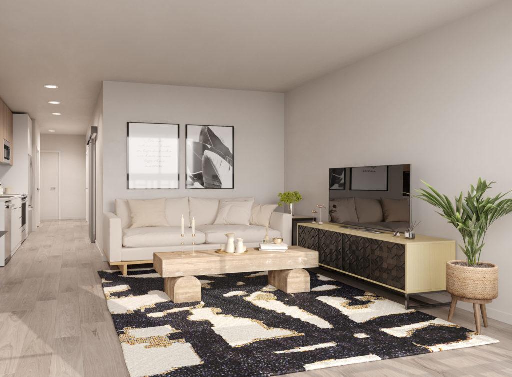 Maris Seattle Living Room